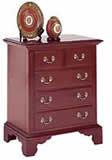 cherry nightstand chest